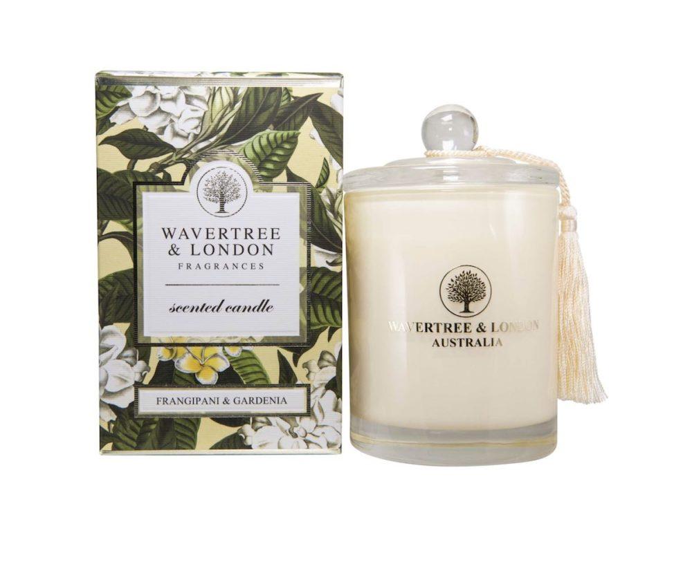 Frangipani and Gardenia Candle