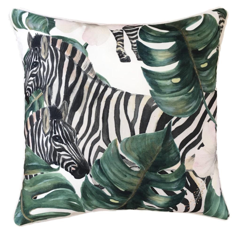 Savanna Zebra Cushion