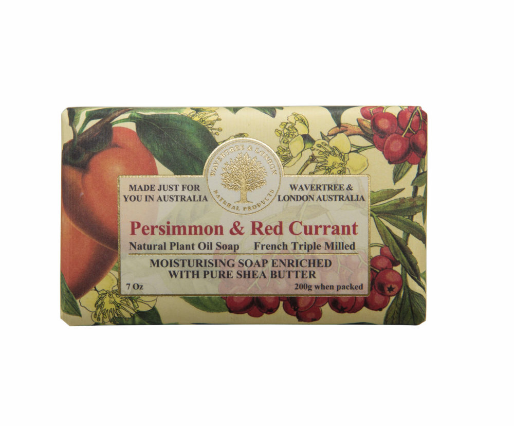Persimmon and Red Currant Soap