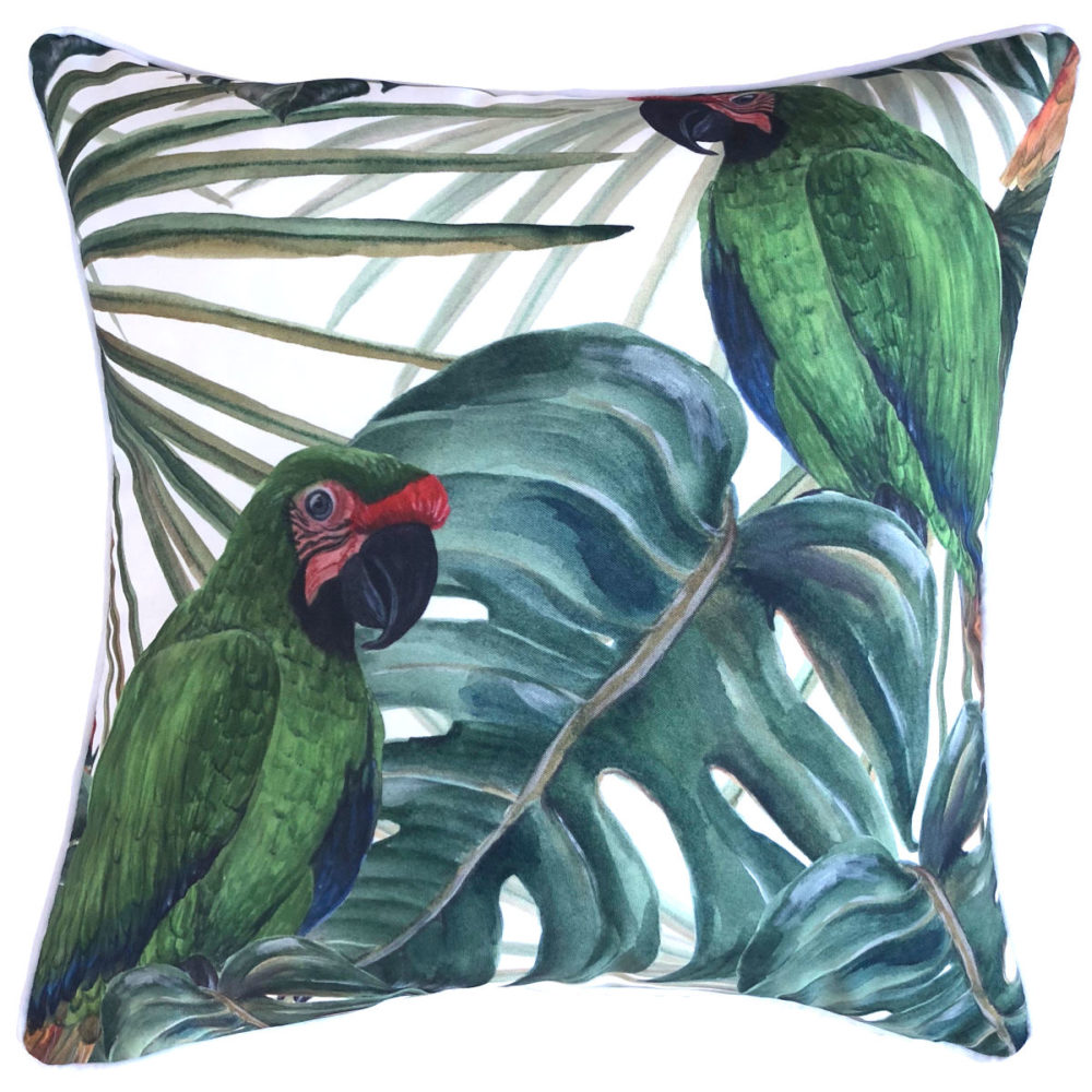 Bahama Bird Cushion