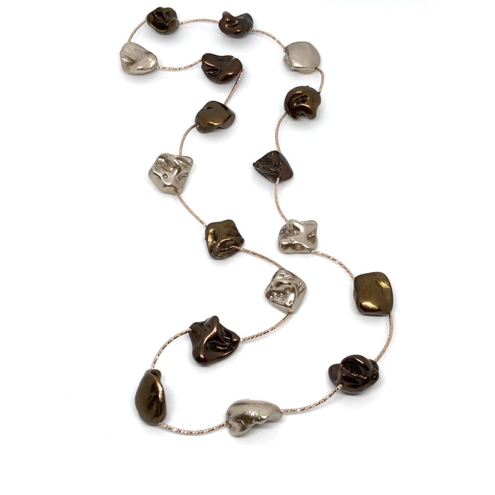 Cayman Island Necklace - Bronze mix/Rose Gold