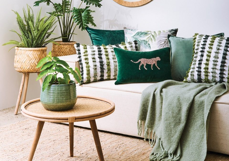 5 Ways to Decorate with the Colour GREEN