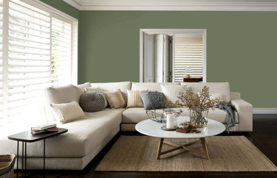 Cabana Style Green Paint design ideas