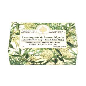Lemongrass and Lemon Myrtle Soap