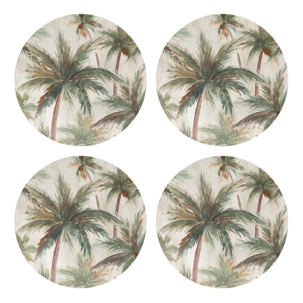 Caribbean Palms Coasters