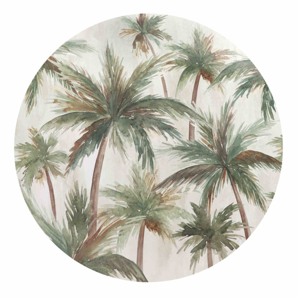 Caribbean Palms Table Mat