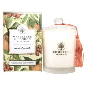 Persimmon and Red Currant Candle