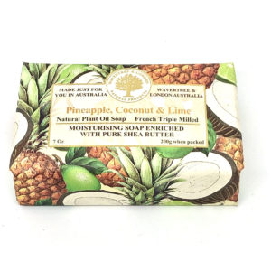 Pineapple Coconut and Lime Soap