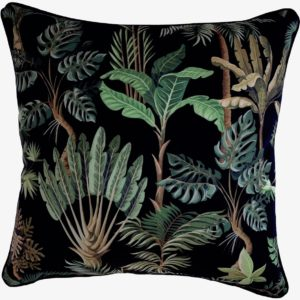 Amazonia Black Cushion