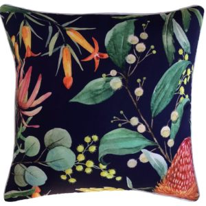 Banksia Blue Cushion