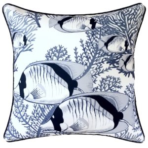 Coral Cove White Cushion