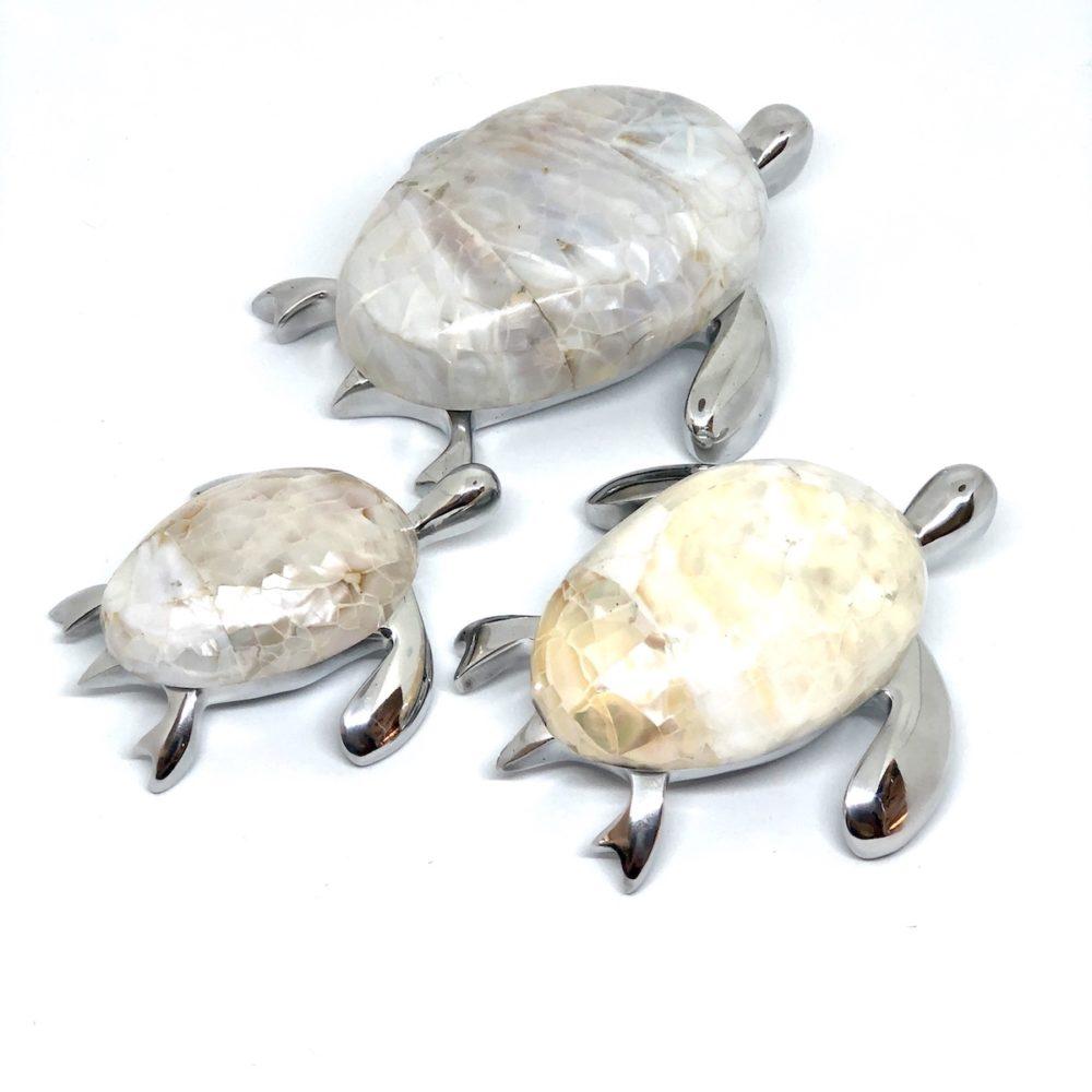 Turtle Figurine - Kabebe Shell