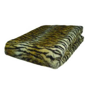 Tiger Faux Fur Throw