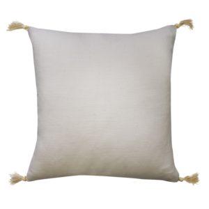 Goa White Linen Cushion
