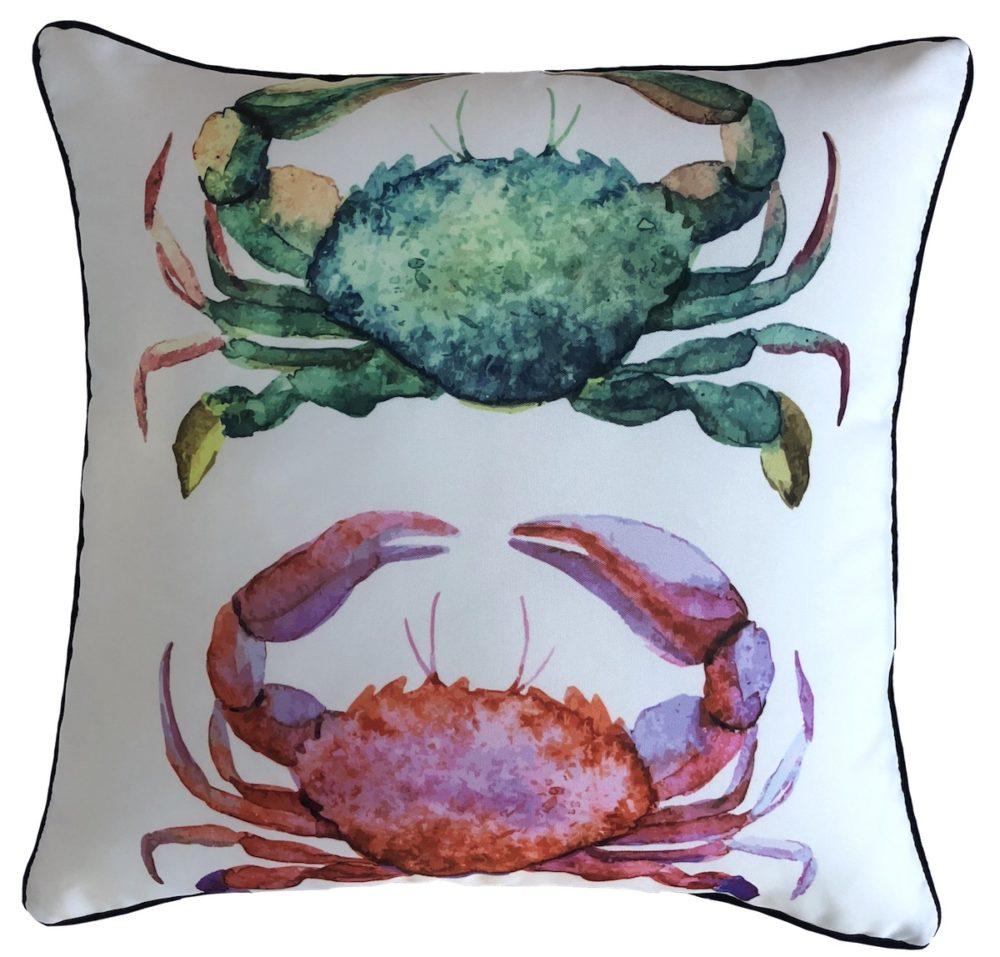 Marine Crabs Outdoor Cushion