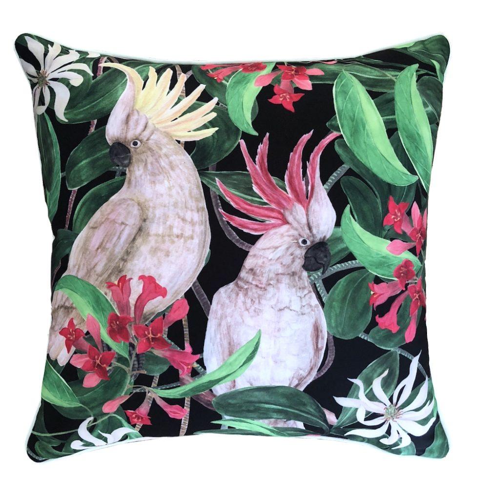 Cockatoo Eden Outdoor Cushion