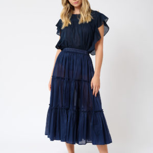 Ipanema Skirt Navy- Alessandra