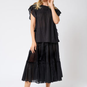 Ipanema Skirt Black- Alessandra