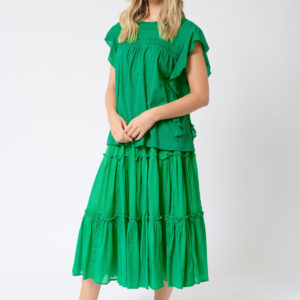 Ipanema Skirt Emerald- Alessandra