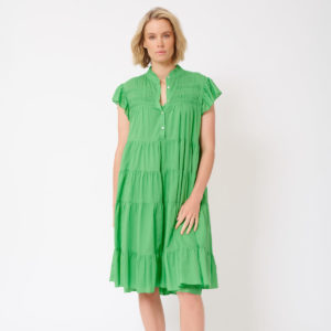 Giselle Dress Apple Green - Alessandra