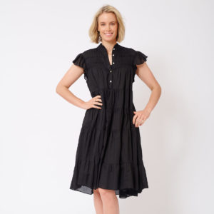 Giselle Dress Black - Alessandra