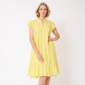 Giselle Dress Canary Yellow - Alessandra