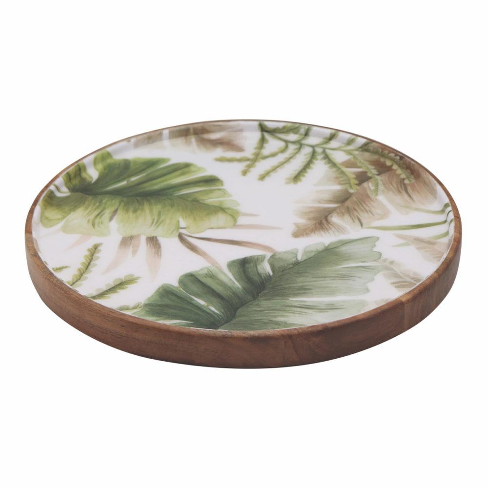 Vanuatu Round Serving Platter
