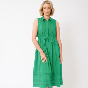 Francesca Dress Emerald - Alessandra