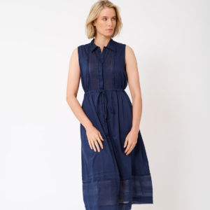 Francesca Dress Navy - Alessandra