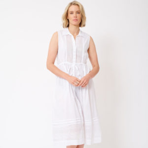 Francesca Dress White - Alessandra