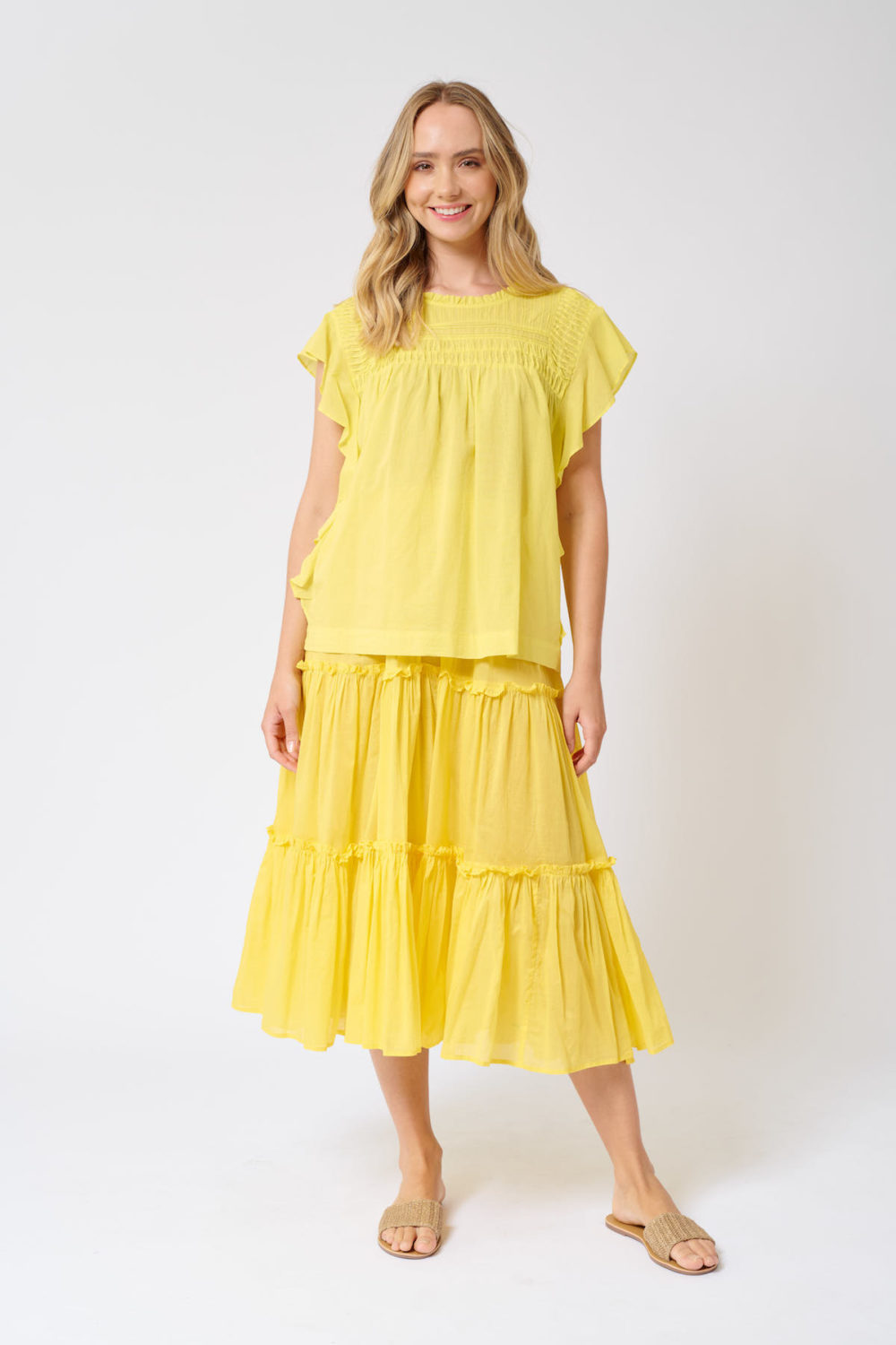 Loreta Top canary Yellow- Alessandra