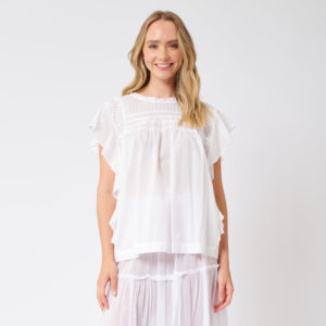 Loreta Top White - Alessandra