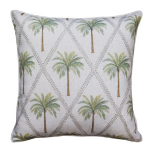 Capricorn Green Cushion