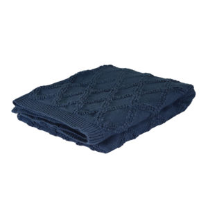Otway Throw Dark Blue
