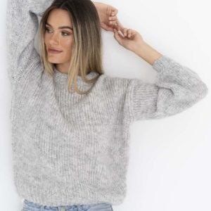 Saviour Jumper Light Grey - Humidity Lifestyle