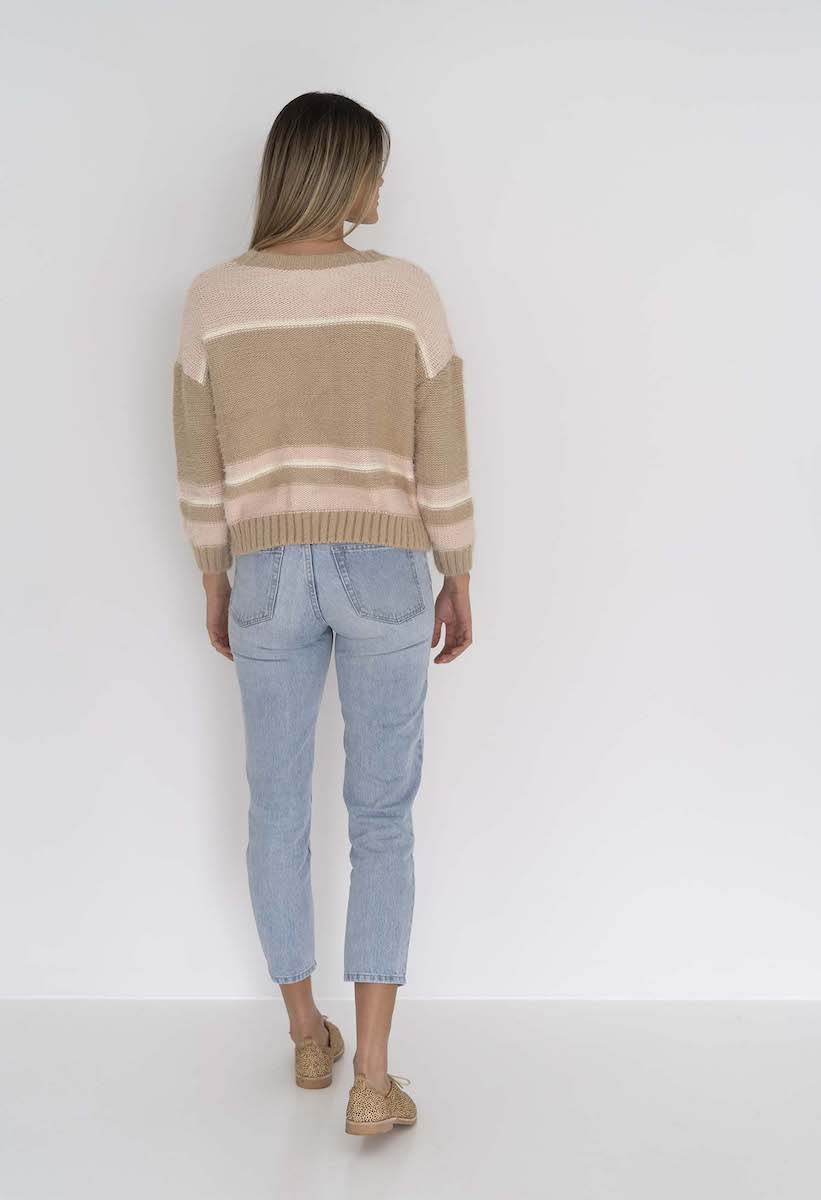 Candy Stripe Jumper - Humidity Lifestyle