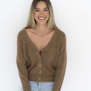 Carla Cardigan Camel - Humidity Lifestyle