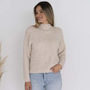 Millie Jumper Oatmeal - Humidity Lifestyle