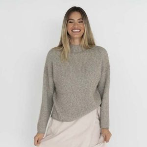 Millie Jumper Sage - Humidity Lifestyle