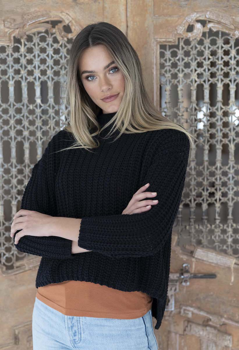 Coco Knit Jumper Black - Humidity Lifestyle