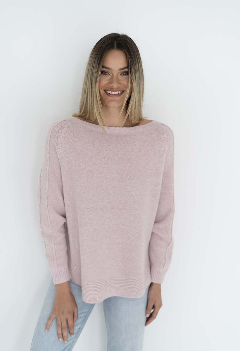 Lazy Sweater Baby Pink - Humidity Lifestyle