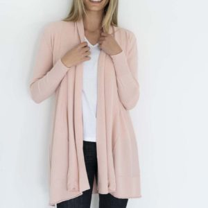 Aruba Cardigan Pink - Humidity Lifestyle