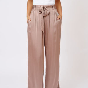 Silk Chantal Pant Copper - Alessandra