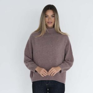 Freya Jumper Grape - Humidity Lifestyle