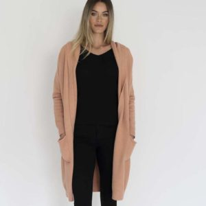 Chloe Knit Jacket Spice - Humidity Lifestyle