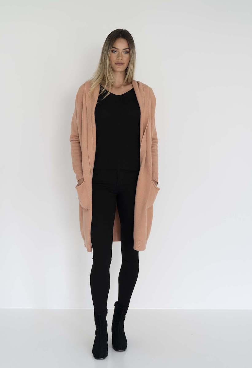 Chloe Knit Jacket Spice - Humidity Lifestyle