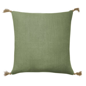 Goa Green Linen Cushion