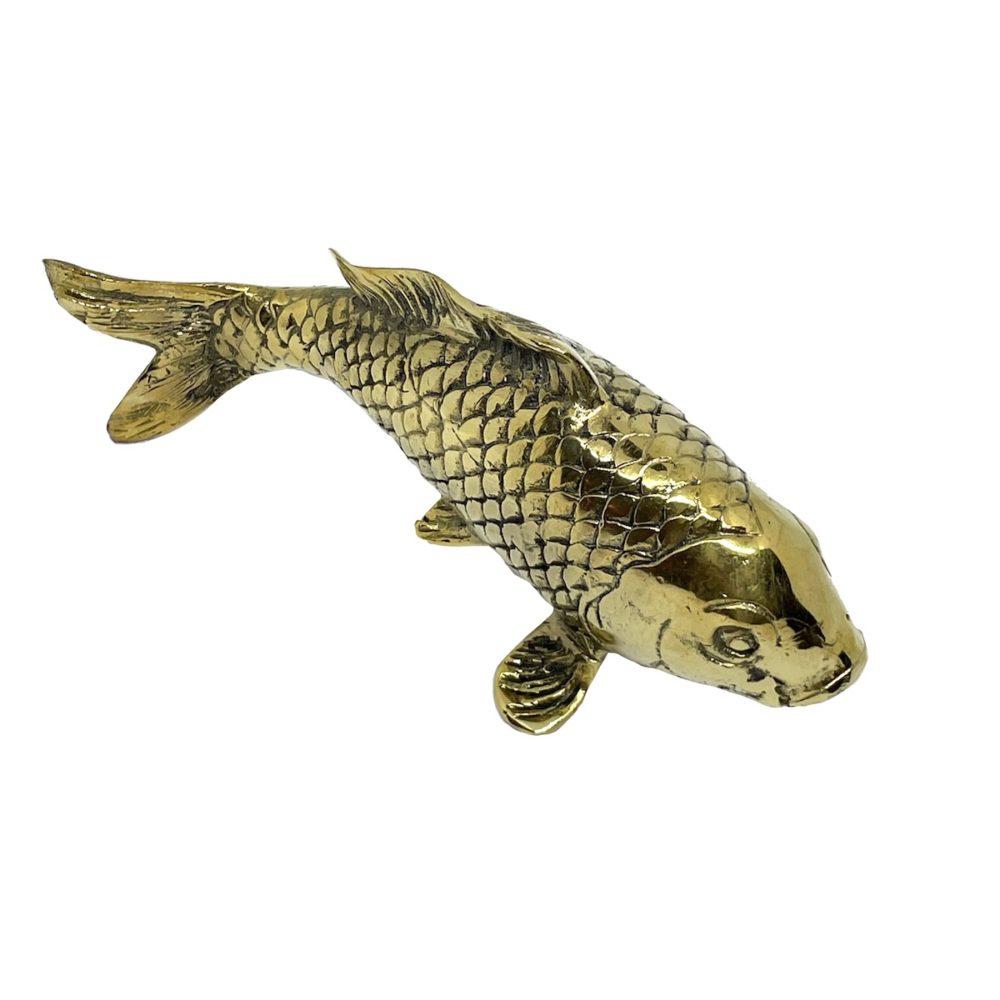 Brass Koi Fish Small