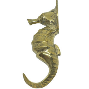 Brass Seahorse Hook