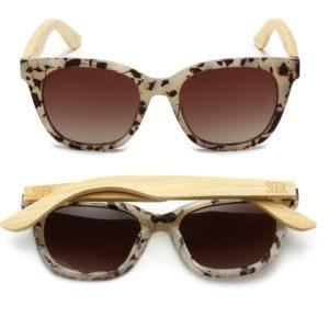 Lila Grace Ivory Tortoise Sunglasses By SOEK